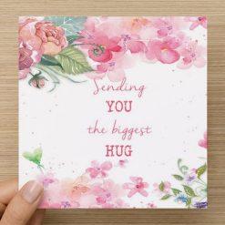Biggest Hug | Blank card