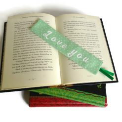 Personalized book mark, book lover gift 9