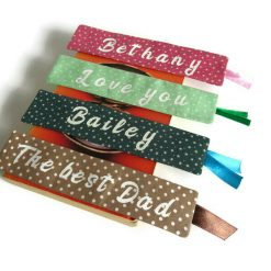 Personalized book mark, book lover gift 10