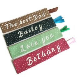 Personalized book mark, book lover gift 11