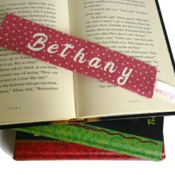 Personalized book mark, book lover gift 12