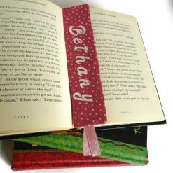 Personalized book mark, book lover gift 13