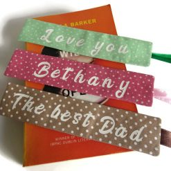 Personalized book mark, book lover gift 14