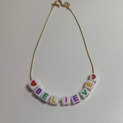 Personalised Gold Clasp Bracelet