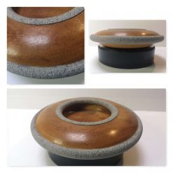 "Iroko 9"" domed bowl"