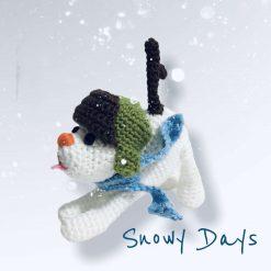 Crochet Patterns: Little Snow Dog