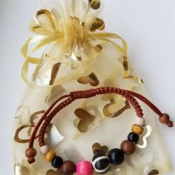 Natural stone and wood Bracelet 6
