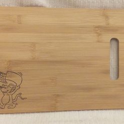 Cheese Board: Runaway Mouse ~ Hand-Etched