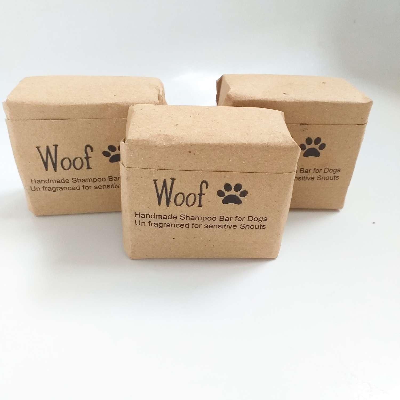 WOOF! Dog Shampoo for sensitive snouts, unfragranced
