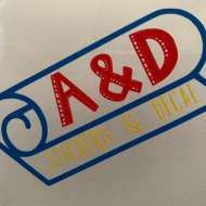 A&D stickers and decal
